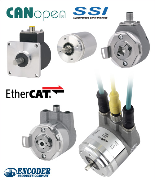 BEPC's Absolute Encoders Now Offer Improved Electronics